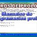 libros prolog español